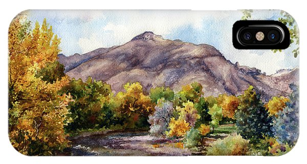 Rocky Mountain iPhone Case - Clear Creek by Anne Gifford