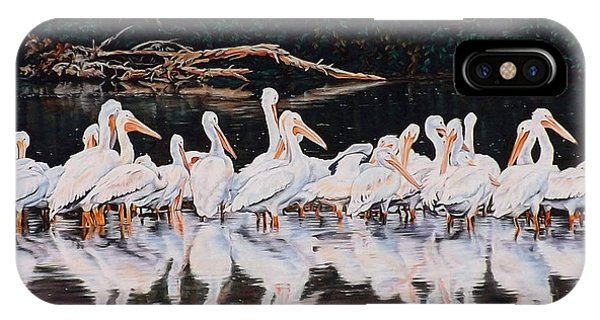 Clear Lake Pelicans IPhone Case