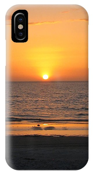 Clear Sunset IPhone Case
