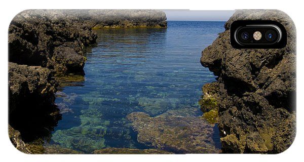 Clear Water Of Mallorca IPhone Case