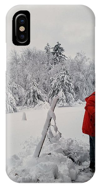 Clearing A Path IPhone Case