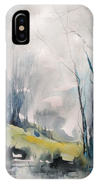 Clearing By The Riverbank IPhone Case