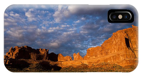 Clearing Storm At Sunrise IPhone Case
