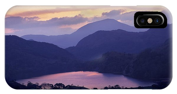 Clearing Storm Nant Gwynant IPhone Case