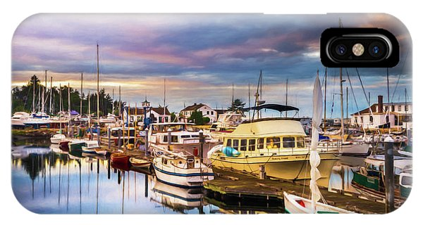 Port Townsend iPhone Case - Clearing Storm Over The Pacific Ocean by TL Mair