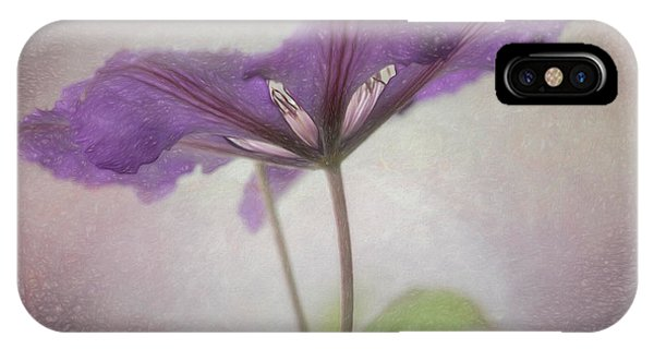 Clematis Eyes IPhone Case