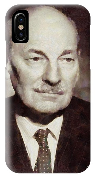 Prime Minister iPhone Case - Clement Attlee, Prime Minister United Kingdom By Sarah Kirk by Sarah Kirk