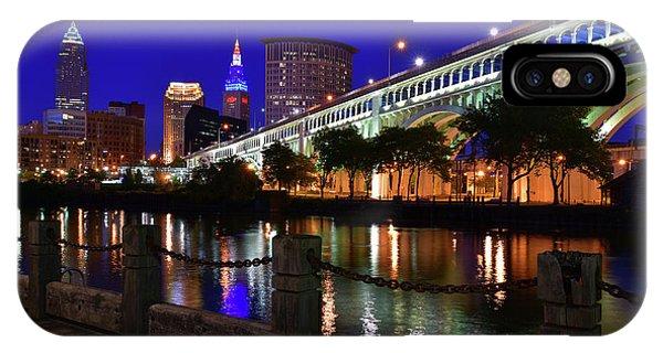 Cleveland Boardwalk Skyline IPhone Case