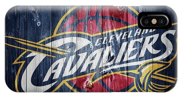 Cleveland Cavaliers Barn Door IPhone Case