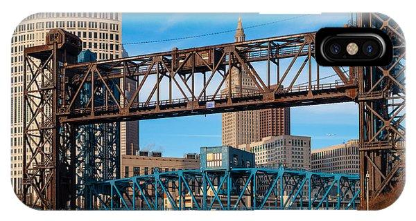 Cleveland City Of Bridges IPhone Case