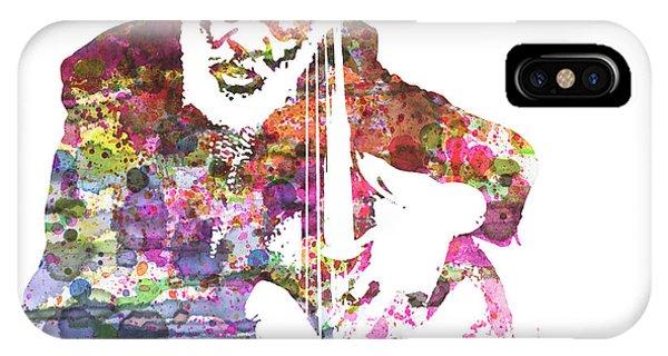 Jazz iPhone X / XS Case - Cleveland Eaton by Naxart Studio