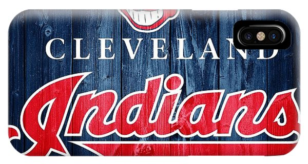 Cleveland Indians Barn Door IPhone Case