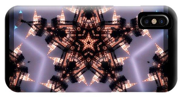 Cleveland Kaleidoscope IIi Phone Case by Kenneth Krolikowski