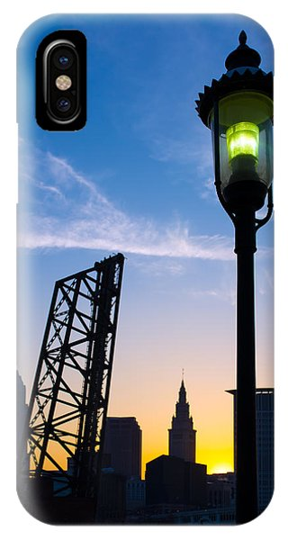Cleveland Morning By The Lamp Post IPhone Case