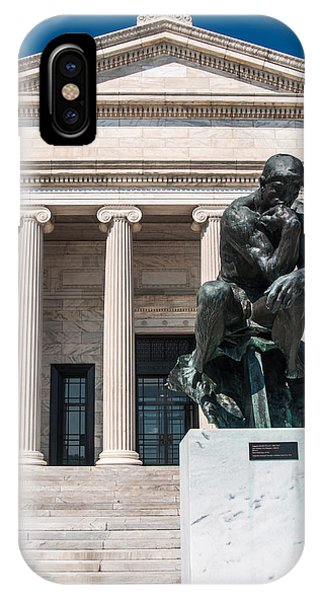 Cleveland Museum Of Art, The Thinker IPhone Case
