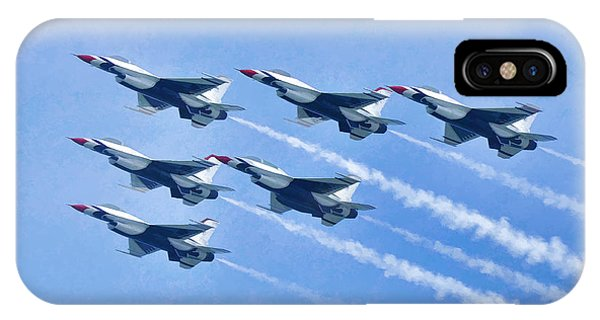 Cleveland National Air Show - Air Force Thunderbirds - 1 IPhone Case