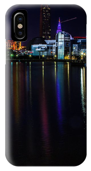 Cleveland Nightly Reflections IPhone Case