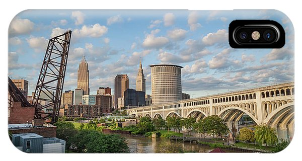Cleveland Skyline Vista IPhone Case