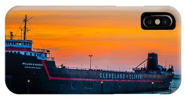 Cleveland Sunset IPhone Case