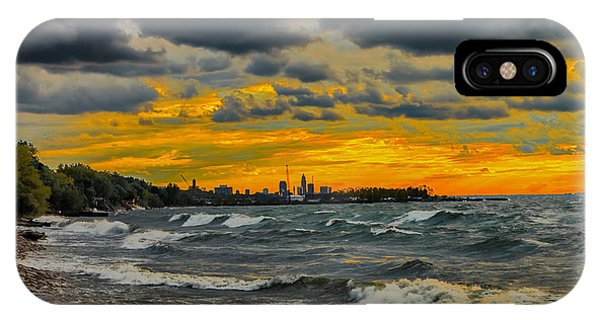 Cleveland Waves IPhone Case