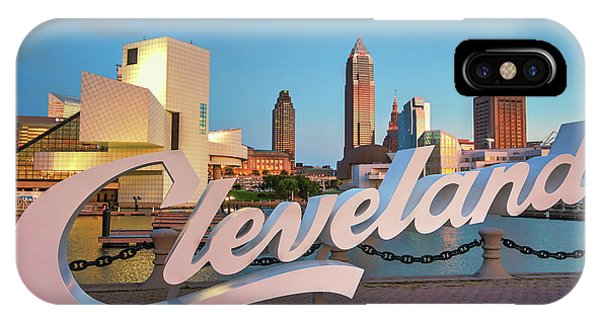 Cleveland's North Coast IPhone Case
