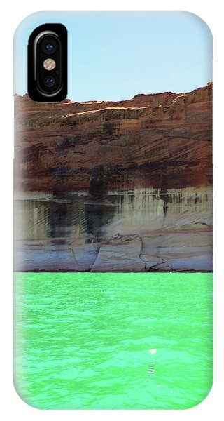 Cliff At Lake Powell IPhone Case
