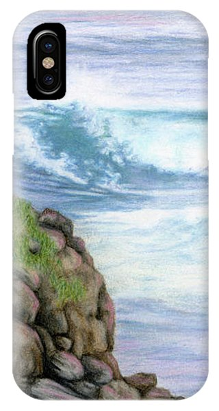 Cliff By The Sea IPhone Case