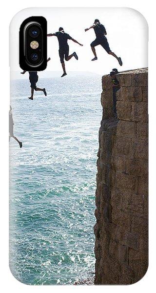 Cliff Diving IPhone Case