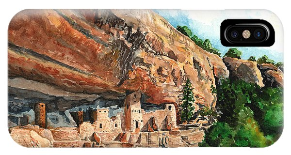Palace iPhone Case - Cliff Palace Mesa Verde by Timithy L Gordon
