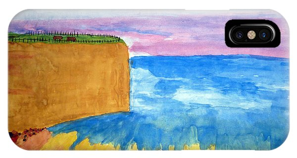 Cliffs And Sea IPhone Case