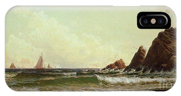 Cliffs At Cape Elizabeth IPhone Case