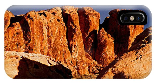 Cliffs In Valley Of Fire State Park, Nv IPhone Case