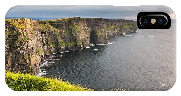 Cliffs Of Moher On The West Coast Of Ireland IPhone Case