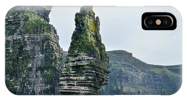 Cliffs Of Moher Sea Stack IPhone Case