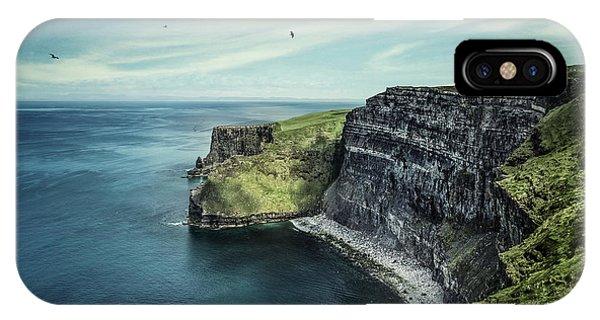 Irish iPhone Case - Cliffside by Evelina Kremsdorf