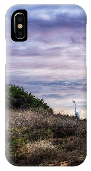 Cliffside Watcher IPhone Case