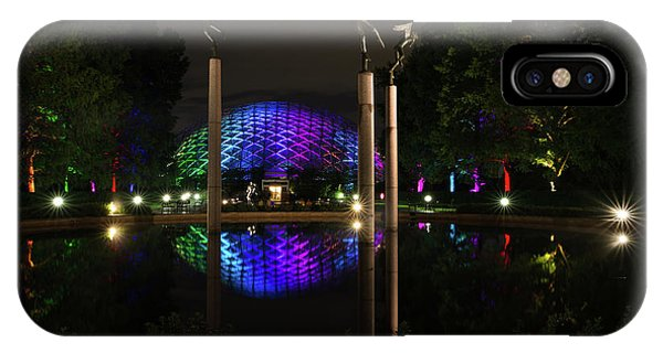 IPhone Case featuring the photograph Climatron 2017 by Andrea Silies