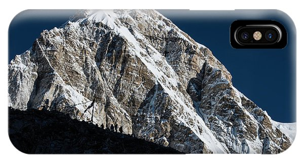 IPhone Case featuring the photograph Climb To Kala Patthar by Owen Weber