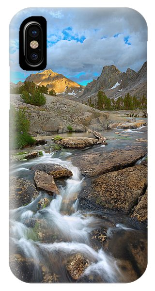 Kings Canyon iPhone Case - Climbing Cascades by Brian Knott Photography