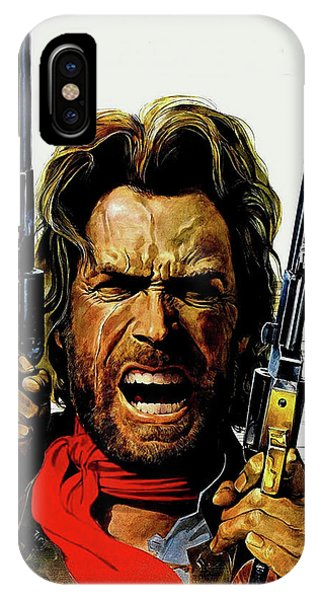 Clint Eastwood As Josey Wales IPhone Case