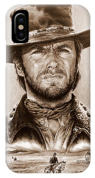 Clint Eastwood The Stranger IPhone Case
