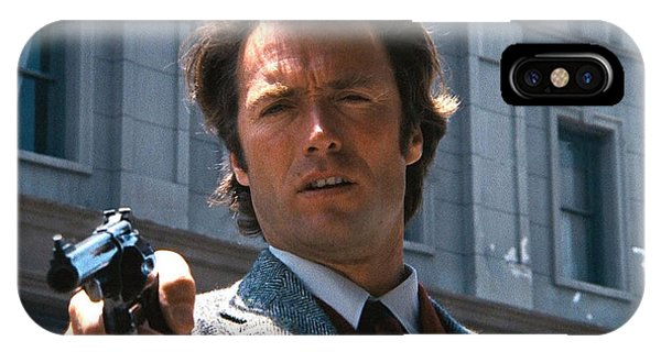 Clint Eastwood With 44 Magnum Dirty Harry 1971 IPhone Case