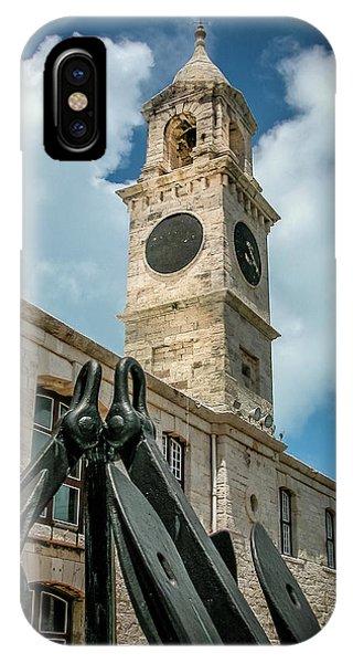 Clock Tower At Naval Dockyard, Bermuda 2 IPhone Case