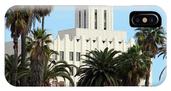 Clock Tower Building, Santa Monica IPhone Case