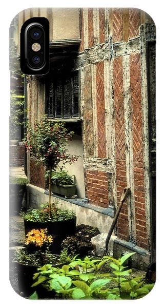 Cloister Garden - Cirencester, England IPhone Case