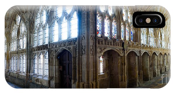 Cloisters, Gloucester Cathedral IPhone Case