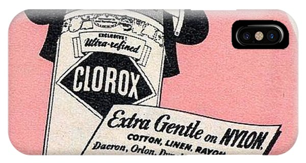 iPhone Case - Clorox Extra Gentle by Reinvintaged