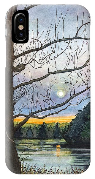 Close To Dusk IPhone Case