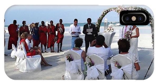 Exploramum iPhone Case - Close Up Kenya Baach Wedding by Exploramum Exploramum