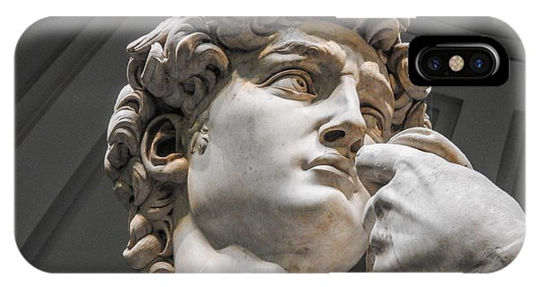 Close Up Of David By Michelangelo IPhone Case